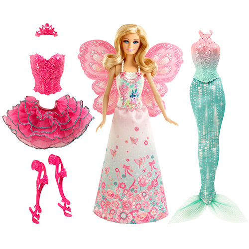 Barbie Mix & Match Fantasias Mágicas