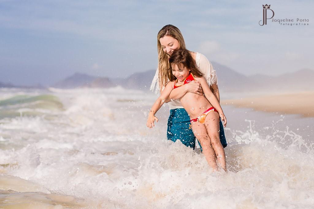 Foto de Jaqueline Porto - Simone e a filha Valentina