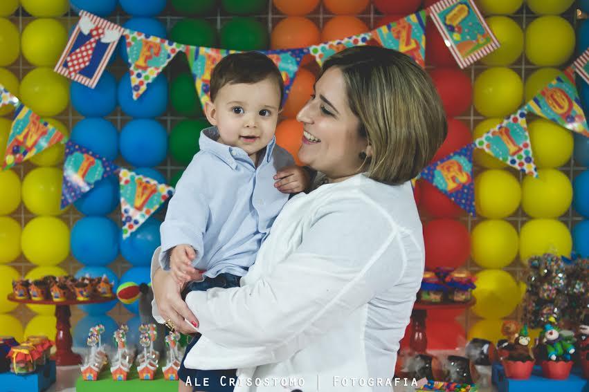 Foto Alê Crisóstomo - Renata Caldas e seu filho Cauã