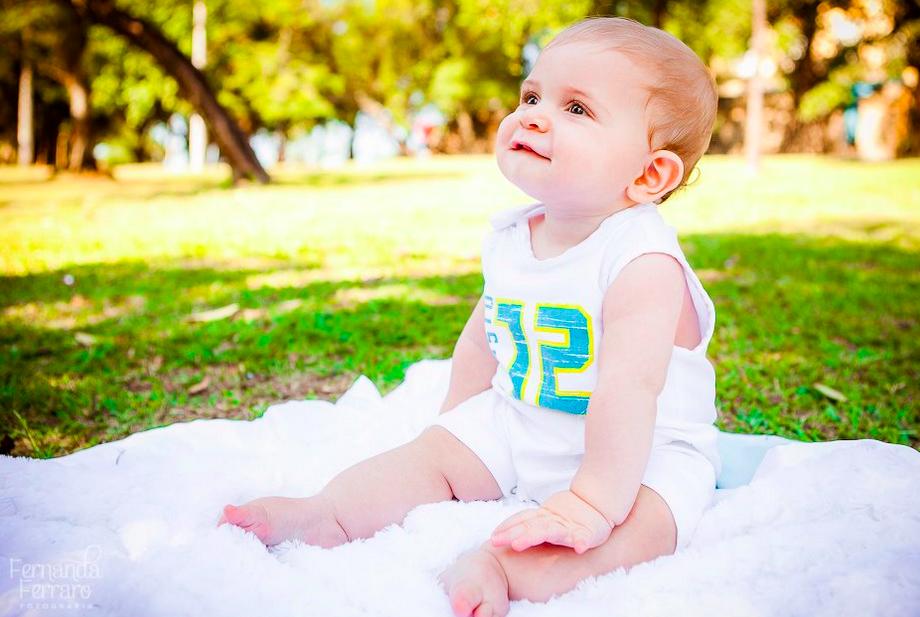 Bebê ao ar livre