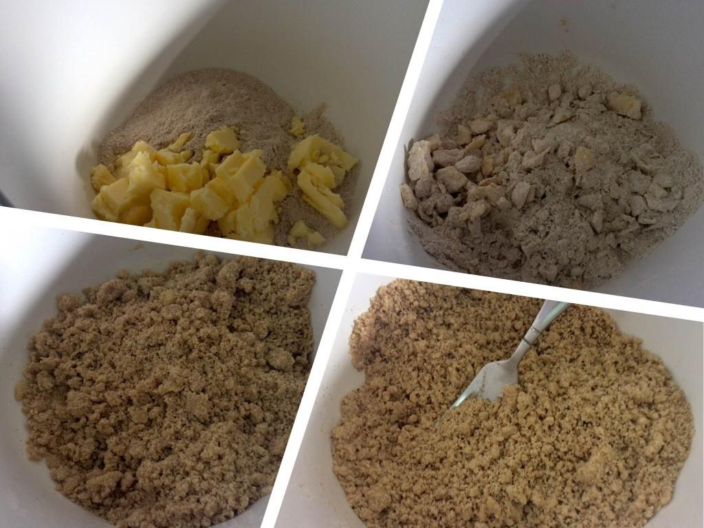 crumble farinha