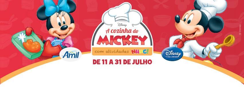 cozinha mickey
