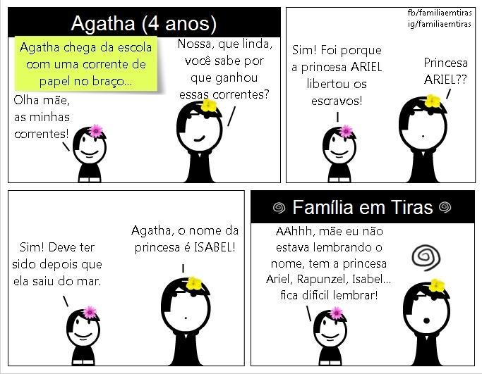 princesa-ariel-agatha-familia-em-tiras
