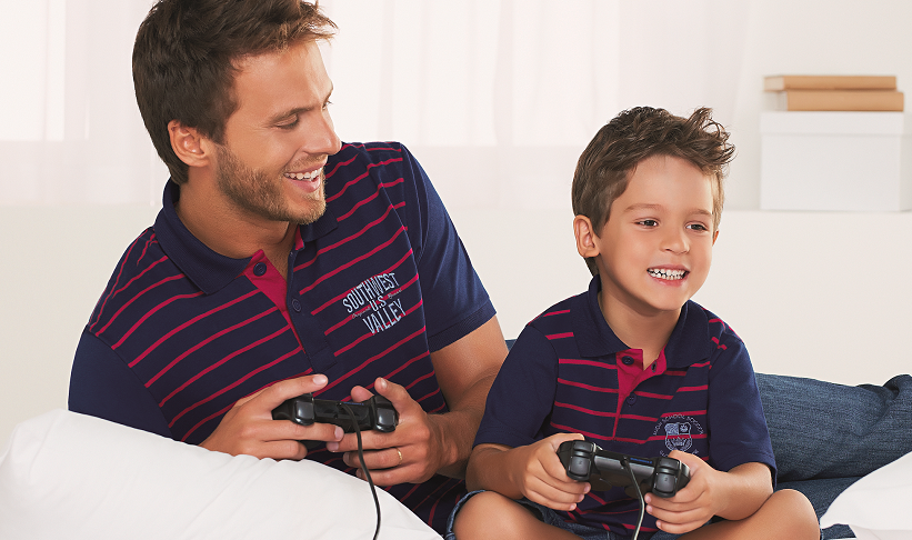 parceria pai e filho