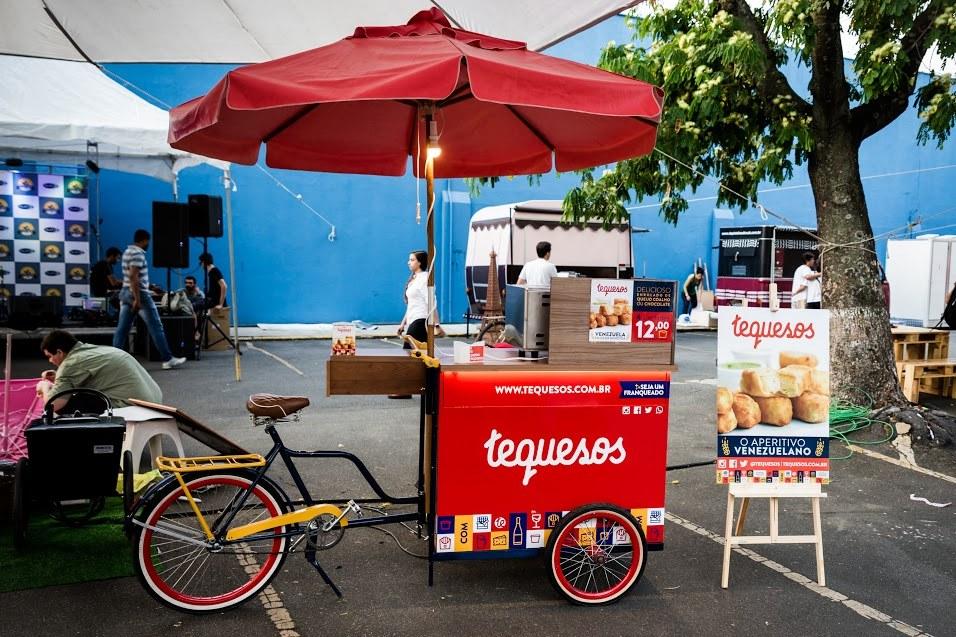 Bike da Tequesos - Crédito: Gabriel Souto