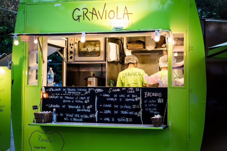 Truck de comidas saudáveis Graviola - Crédito: Gabriel Souto