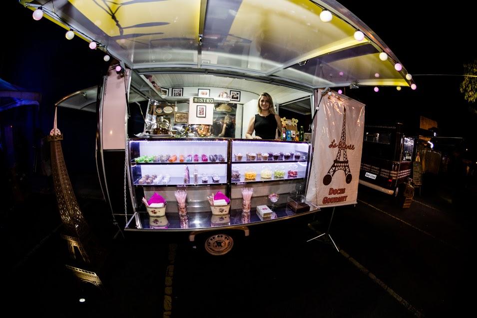 Truck Le Blancc de doces - Crédito: Gabriel Souto