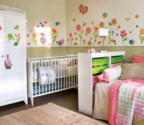 Shared-Bedroom-for-Baby-and-Child-Kid-Design-Ideas