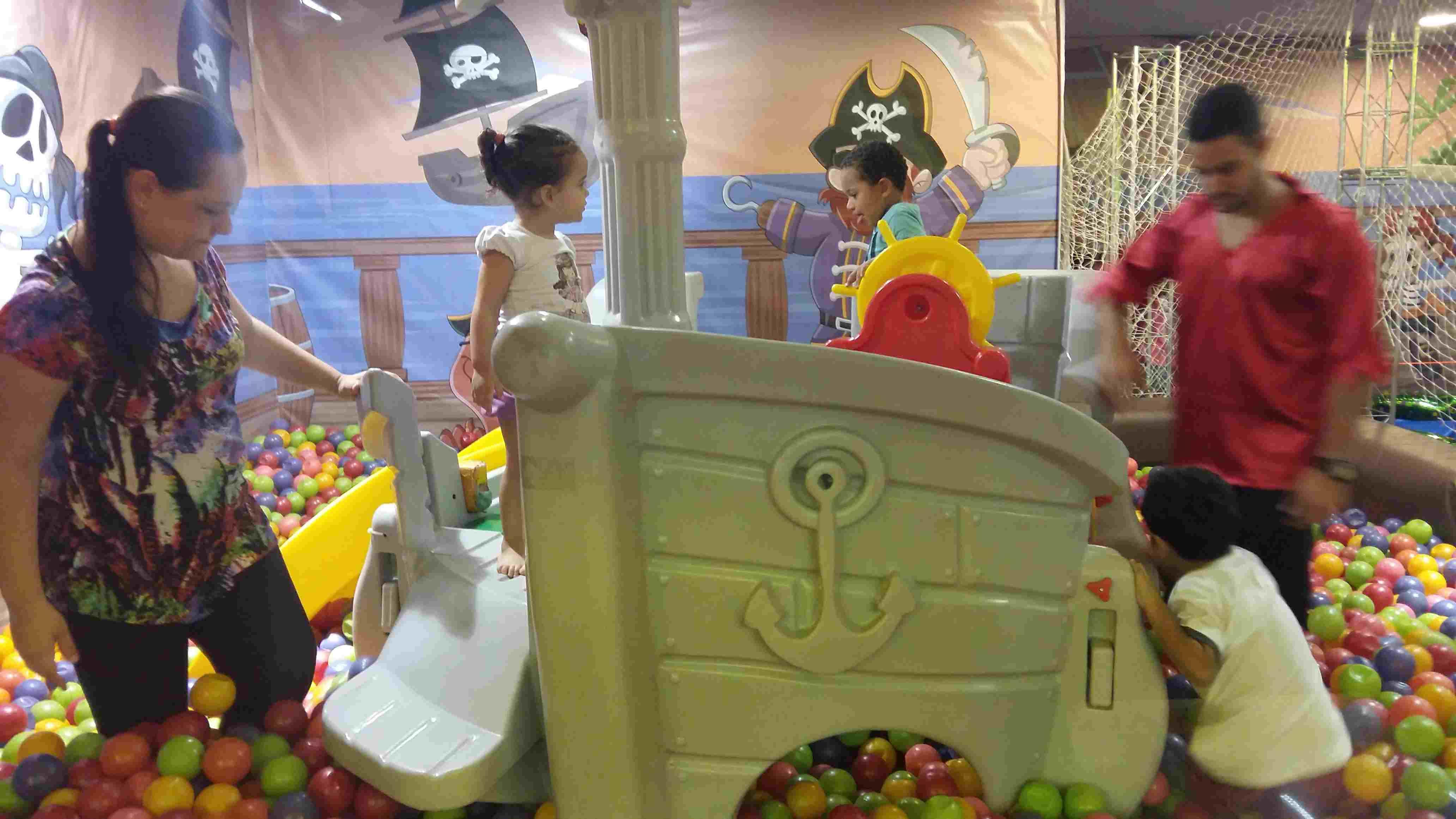 Clube Piratinhas barco