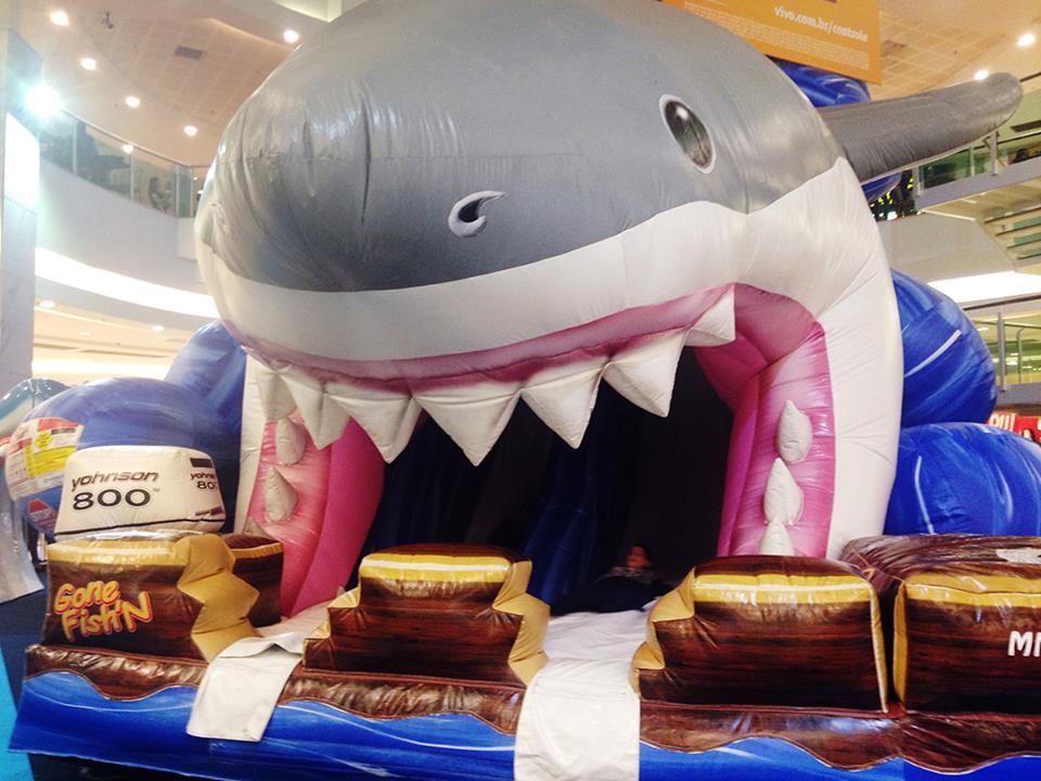 Tubarão Inflável