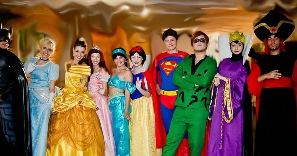 princesas e herois