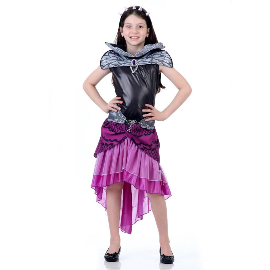 Fantasia Raven Queen - R$259,99 - Mattel