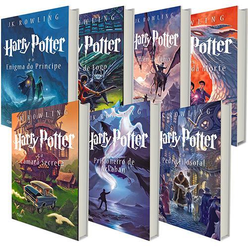 Coleção dos 7 livros do Harry Potter - R$119,90 - www.submarino.com.br