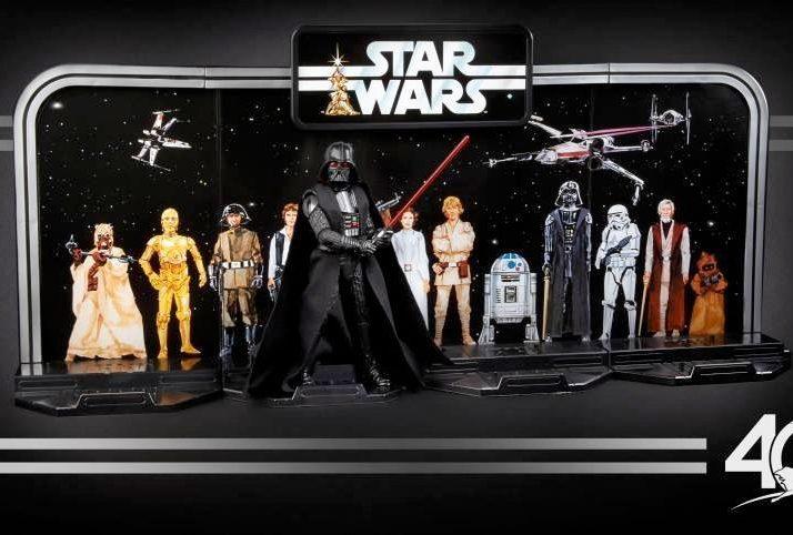 """Coleção Star Wars Black Series 6"""" Edição Comemorativa de 40 Anos – R$ 299,00 - www.hasbro.com.br"""